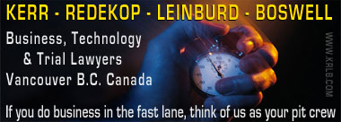 Graphic for Kerr Redekop Leinburd Boswell : business technology, intellectual property, trademark agents/lawyers, Vancouver