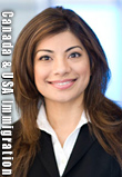 Saba Naqvi, BA & JD, multilingual in English & Urdu - Canada & USA immigration lawyer, practices both in BC and California Bar