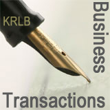 Business transactions / contracts review lawyers - photo of  pen signing a contract- CLICK TO KERR REDEKOP LEINBURD   lawyers