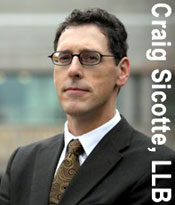 Craig Sicotte, experienced  and well knowncriminal defense lawyer based in Surrey, also accepts Legal Aid cases