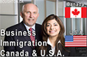 Bruce Harwood, BC lawyer and Saba Naqvi, BC and California USA lawyer, work primarily with business immigration applicants to Canada and USA - from the downtown Vancouver offices of Boughton Law Corp