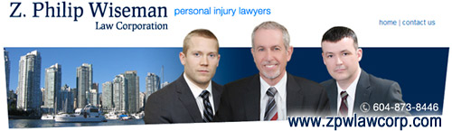 Elliot Holden  joins Z. Philip Wieseman law corp a Vancouver firm focuses on ICBC injury claims disputes