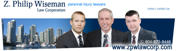 Philip Wiseman  sitting between 2nd lawyer and ICBC case manager
