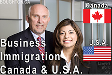 Bruce Harwood & Saba Naqvi, provide individuals and businesses with Business Immigration Services for Canada and USA from their Vancouver downtown offices