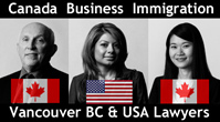 Bruce Harwood, MA, LLB, Canada Immigration; Saba Naqvi, (fluent in Hindi & Urdu) JD, Canada & USA immigration & Angela So, JD fluent in Mandarin & Cantonese are lawyers with Boughton Law immigration group, in downtown Vancouver, BC  - click for more info