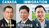 Jeffrey Lowe, immigration & business lawyer, Robert Leong, LLB, applications, appeals lawyer, Stan Leo, PNP, sponsors, employment visas, over 25 years experience with clients from over 70 countries , Vancouver offices at 777 West Broadway -- Click for more information