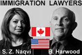 Saba Naqvi, California & BC business immigration lawyer with Burce Harwood, BC immigration lawyer with downtown Vancouver offices