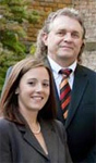 David Greig, senior counsel, and Renee Aldana  Family Law services of Southcoast Law firm in Surrey, BC