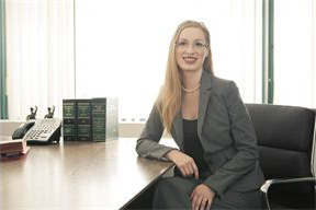 Jessica England, family-divorce lawyer on West Broadway, Vancouver, BC
