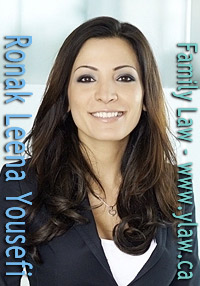 Leena Yousefi, celebrated Vancouver family lawyer in offices on Howe St. click to firm website  www.ylaw.ca
