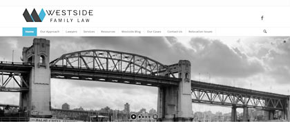 Westside Family law photo of Burrard Bridge, in Vancouver, click to their website