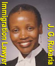 Jane Rukaria, called to both Kenya Bar and BC Canada Bar, fluent inEnglish and Swahili  - focus on immigration & refugee law